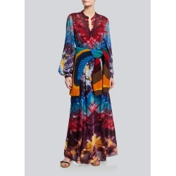 Massey Tie-Dye Maxi Dress found on MODAPINS from Bergdorf Goodman for USD $5490.00