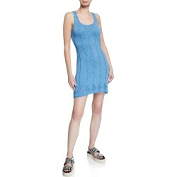 Scalloped Tank Mini Dress found on MODAPINS from Bergdorf Goodman for USD $295.00