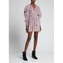 Okoo Mini Floral Dress found on MODAPINS from Bergdorf Goodman for USD $495.00