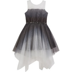 Girl's Suzy Ombre Shimmer Mesh Dress, Size 7-16 found on Bargain Bro India from Bergdorf Goodman for $111.00