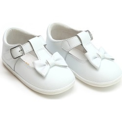 Minnie Leather Bow Mary Jane, Baby found on Bargain Bro India from Bergdorf Goodman for $38.00
