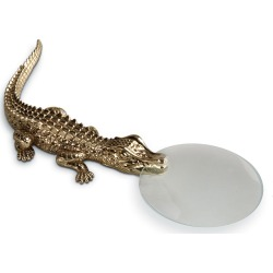 Crocodile Magnifying Glass found on Bargain Bro from Bergdorf Goodman for USD $114.00