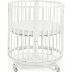 Sleepi Mini Baby Crib Bundle, White found on Bargain Bro from Bergdorf Goodman for USD $379.24