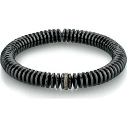 Men's Hematite Disc & Diamond Bracelet, Size M found on Bargain Bro Philippines from Bergdorf Goodman for $350.00