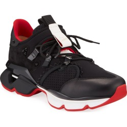 Men's Spiked-Trim Tricolor Active Sneakers found on Bargain Bro India from Bergdorf Goodman for $1195.00