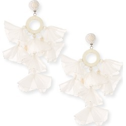 Skylar Stick Pearl And Tassel Clip Earrings found on Bargain Bro India from Bergdorf Goodman for $320.00