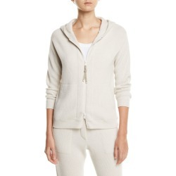 Ribbed Cashmere Monili-Zip Hoodie found on MODAPINS from Bergdorf Goodman for USD $3750.00
