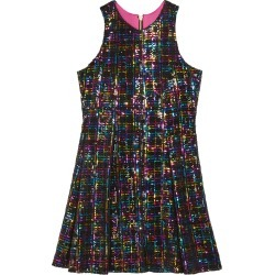 Girl's Stacey Rainbow Sequin Knit Dress, Size 7-16 found on Bargain Bro India from Bergdorf Goodman for $82.00