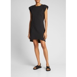 Padded-Shoulder Cotton T-Shirt Dress found on MODAPINS from Bergdorf Goodman for USD $228.00