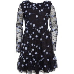 Girl's Candice Mesh Floral Embroidered Dress, Size 7-16 found on Bargain Bro India from Bergdorf Goodman for $42.00