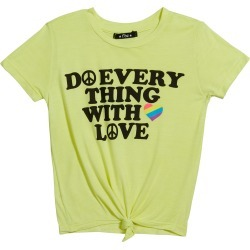 Girl's Do Everything With Love Graphic T-Shirt, Size S-XL found on Bargain Bro India from Bergdorf Goodman for $50.00
