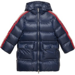 Girl's Padded Hooded Jacket w/ Logo Taping, Size 4-12 found on Bargain Bro Philippines from Bergdorf Goodman for $1190.00