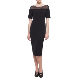 Short-Sleeve Illusion Crepe Dress found on Bargain Bro Philippines from Bergdorf Goodman for $997.00
