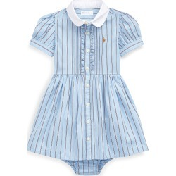 Striped Button-Up Dress w/ Bloomers, Size 6-24 Months found on Bargain Bro Philippines from Bergdorf Goodman for $37.00
