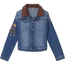 Manning Denim Jacket w/ Patches, Size S-L found on Bargain Bro Philippines from Bergdorf Goodman for $78.00