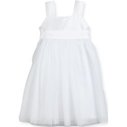 Venice Pleated Straps V-Back Dress, White, Size 7-10 found on Bargain Bro Philippines from Bergdorf Goodman for $269.00