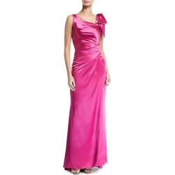 Shiny Satin Tie-Shoulder Gown found on MODAPINS from Bergdorf Goodman for USD $1850.00