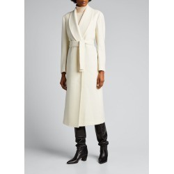 Linda Double-Breasted Shawl Coat found on Bargain Bro Philippines from Bergdorf Goodman for $2445.00