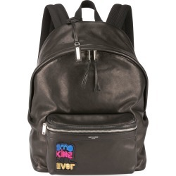 Men's City Appliqué Leather Backpack found on MODAPINS from Bergdorf Goodman for USD $1113.00