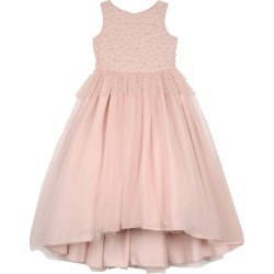 Peplum High-Low Maxi Dress w/ Pearly Bead Trim, Size 4-6X found on Bargain Bro Philippines from Bergdorf Goodman for $225.00
