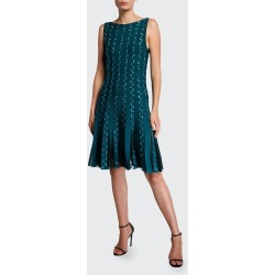 Embroidered Jersey Cocktail Dress found on MODAPINS from Bergdorf Goodman for USD $720.00