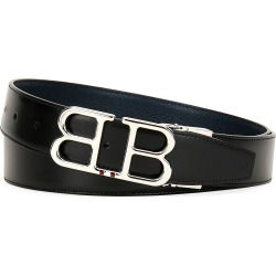 Men's Britt B-Buckle Belt - Chrome Hardware found on Bargain Bro Philippines from Bergdorf Goodman for $395.00