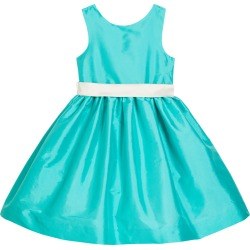 Girl's Sleeveless Taffeta Dress w/ Sash, Size 4-6X found on Bargain Bro India from Bergdorf Goodman for $134.00