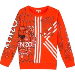 Multi-Iconic Tiger & Dragon Graphic Sweatshirt, Size 8-12 found on Bargain Bro Philippines from Bergdorf Goodman for $117.00