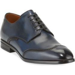 Men's Liniz Wing-Tip Derby Shoes found on Bargain Bro Philippines from Bergdorf Goodman for $595.00