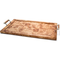 Burl Veneer Large Tray found on Bargain Bro Philippines from Bergdorf Goodman for $410.00
