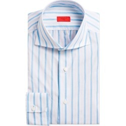 Multi-Stripe Cotton Dress Shirt, White/Blue found on Bargain Bro from Bergdorf Goodman for USD $171.76