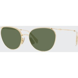 Oval Mineral Lens Sunglasses found on Bargain Bro India from Bergdorf Goodman for $470.00