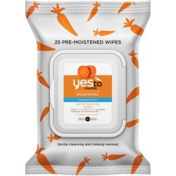 Yes To Carrots Fragrance-Free Wipes found on Makeup Collection from BIRCHBOX for GBP 4.57
