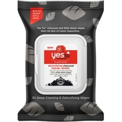 Yes To Tomatoes Detoxifying Charcoal Facial Wipes found on Makeup Collection from BIRCHBOX for GBP 5.72