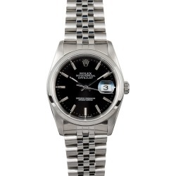 Rolex Datejust Stainless Watch 16200 found on MODAPINS from Bob's Watches for USD $3395.00