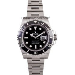 Rolex Ceramic Submariner Watch 116610 found on MODAPINS from Bob's Watches for USD $7270.00