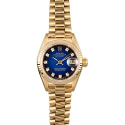 Rolex Lady President Watch 69178 found on MODAPINS from Bob's Watches for USD $6799.00