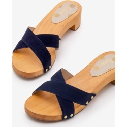 Orella Clogs Navy Women Boden found on MODAPINS from bodenusa.com for USD $110.00