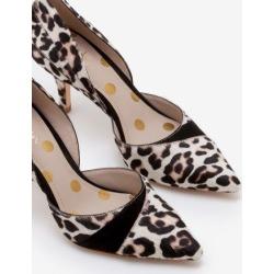 Henrietta Heels Ivory Leopard Women Boden found on MODAPINS from bodenusa.com for USD $126.00