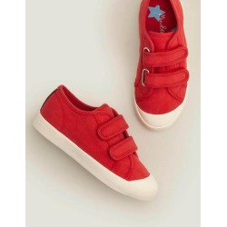 Double Strap Canvas Shoes Cherry Tomato Red Boys Boden found on Bargain Bro India from bodenusa.com for $45.00