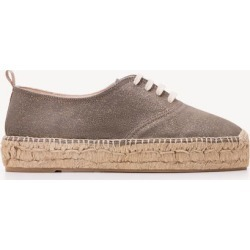 Mila Espadrilles Gilded Grey Women Boden found on MODAPINS from bodenusa.com for USD $47.50