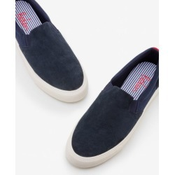 Slip-on Sneakers Navy Men Boden found on MODAPINS from bodenusa.com for USD $95.00