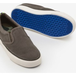 Canvas Slip-ons Army Green Boys Boden found on Bargain Bro India from bodenusa.com for $22.50
