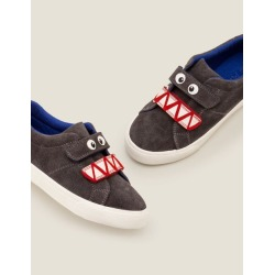 Suede Low Tops Night Owl Grey Boys Boden found on Bargain Bro Philippines from bodenusa.com for $36.00