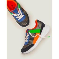 Colourblock Sneakers Herb Green Mini Camo Boys Boden found on Bargain Bro India from bodenusa.com for $66.00