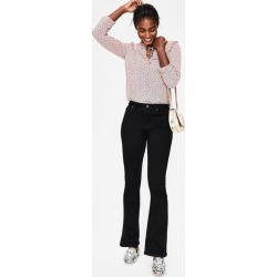 Marylebone Slim Bootcut Jeans Black Women Boden found on MODAPINS from bodenusa.com for USD $72.00