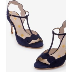 Cecile Heels Navy Women Boden found on MODAPINS from bodenusa.com for USD $190.00