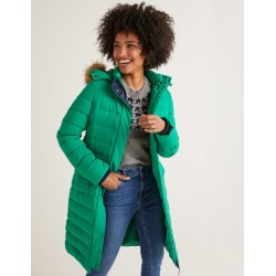 Cavell Puffer Coat Highland Green Women Boden