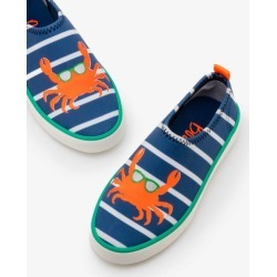 Aqua Shoes Lagoon Blue/Ivory Boys Boden found on Bargain Bro India from bodenusa.com for $21.00