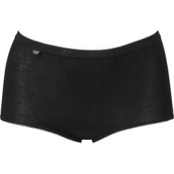 2 Pack Sloggi Maxi Briefs - Black - size 14 found on Bargain Bro Philippines from bonmarche for $22.96